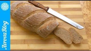 Самый простой рецепт пшеничного цельнозернового хлеба на закваске