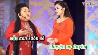Con Gái Của Mẹ(Tân cổ)-karaoke demo-Hồng Quyên ft NSND Ngọc Giàu