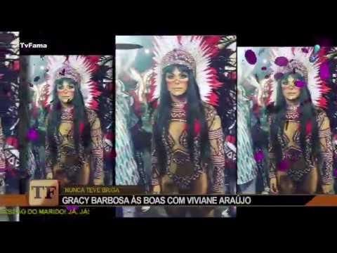 "Gracyanne Barbosa elogia Viviane Araújo: ""Também acho ela maravilhosa"""