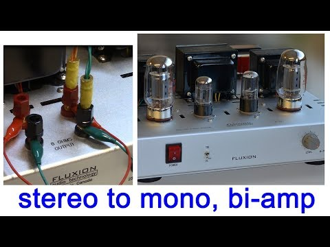 Bi-amping, Stereo To MONOBLOCK, BTL Tube Amplifier KT88 SE, 진공관앰프