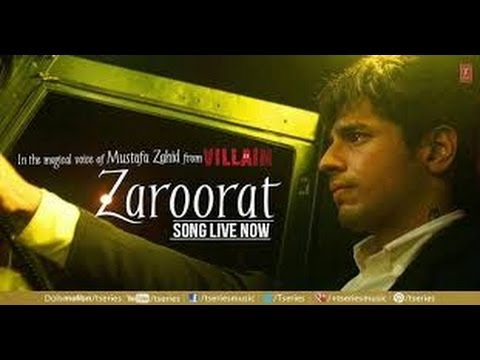 Ek Villain ~~ Zaroorat (Full Video Song)(1080p)(HD)W/Lyrics Ankit Tiwari & Sidharth Malhotra...2014