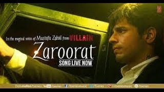 Ek Villain ~~ Zaroorat (Full Video Song)(1080p)(HD)W/Lyrics Ankit Tiwari & Sidharth Malhotra...2014
