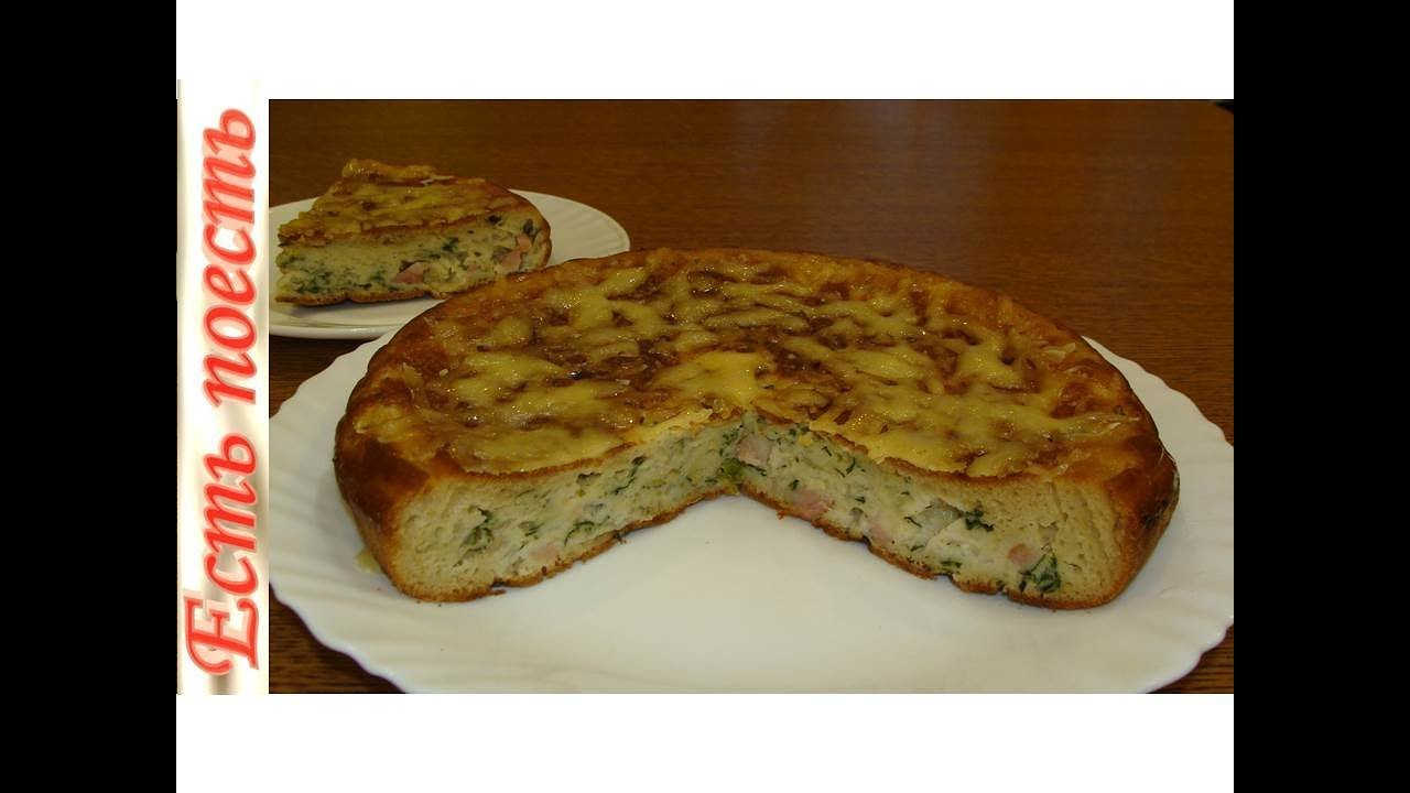пирожки ленивые с капустой на сковороде
