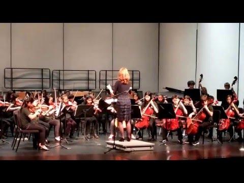 Daniel Wright Junior High School - 5th Grade Orchestra Winter Concert (2/4)