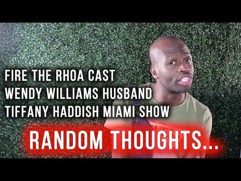 Fire ENTIRE  Rhoa Cast, Wendy Williams , Tiffany Haddish Miami