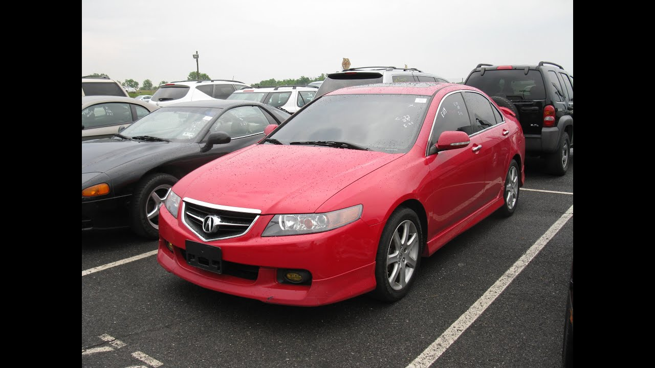 2005 acura tsx start up rev and tour youtube. Black Bedroom Furniture Sets. Home Design Ideas