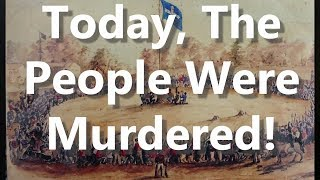 Today, The People Were Murdered!