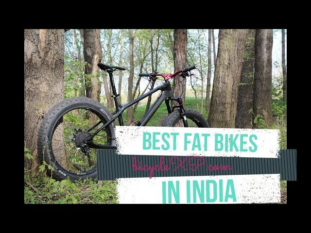 Top 11] Best Fat Bikes in India { Which one to Buy