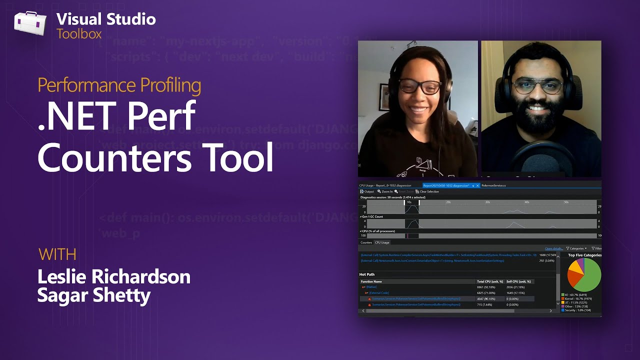 Performance Profiling   .NET Perf Counters Tool
