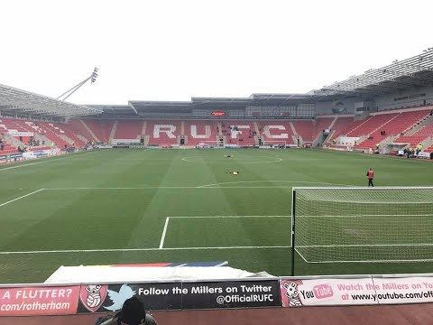 Rotherham United Vs AFC Wimbledon - Match Day Experience