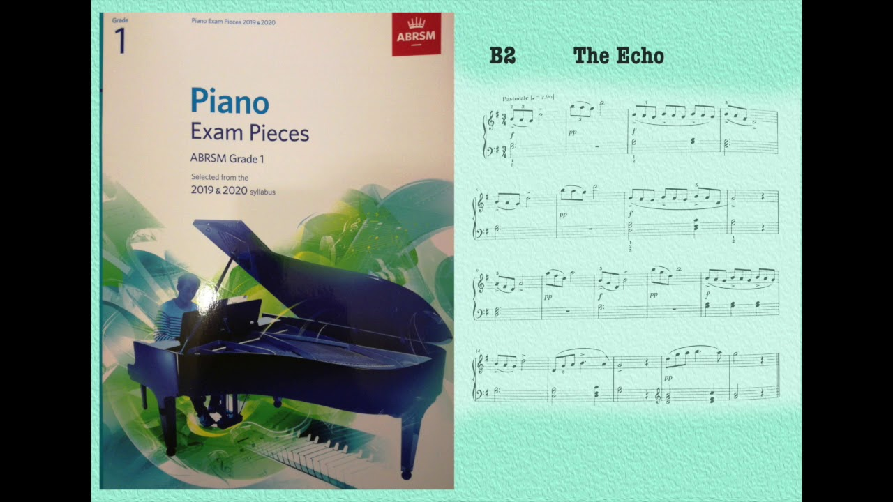 Piano Exam Pieces - Grade 1 - Piano, ABRSM Syllabus 2019-2020 - COMPLETE -