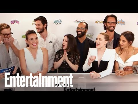 'Westworld' Cast & Creator Dish On Unanswered Season 2 Questions  SDCC 2017  Entertainment Weekly