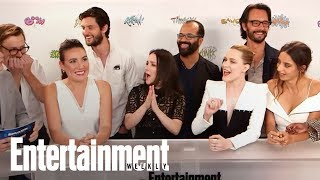 'Westworld' Cast & Creator Dish On Unanswered Season 2 Questions | SDCC 2017 | Entertainment Weekly
