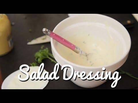 BASICS: Yoghurt & Herb Salad Dressing - Crumbs