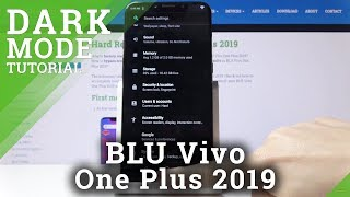 So invertieren Sie Farben in BLU Vivo One Plus 2019 - Farbinversion