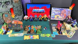 Masters Of The Universe MOTU Battle For Eternia Board Game Figure Stands