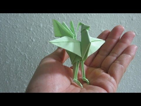 TUTORIAL - How to make a Origami Chinese Phoenix (Creator: J