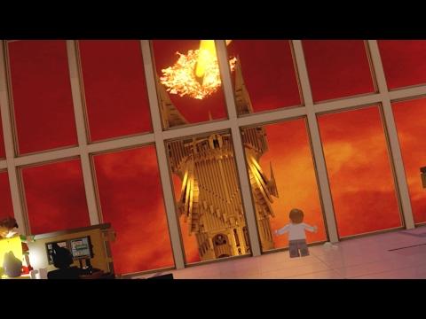 The Lego Batman Movie Batman Sneaks Past The Eye Of Barad Dur Youtube