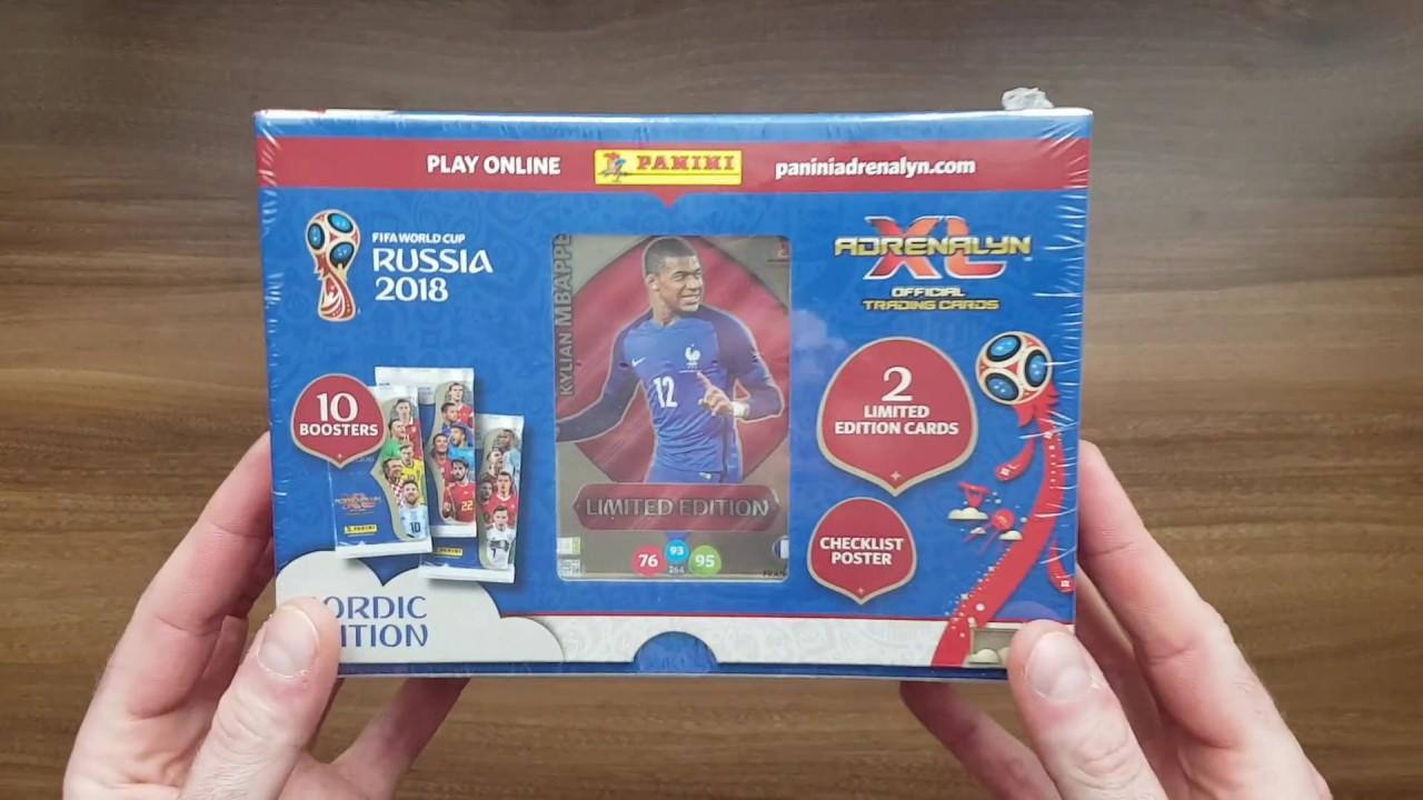 c3976fab911 PANINI FIFA WORLD CUP RUSSIA 2018 - NORDIC GIFT BOX - SZOK!!! 2 X NORDIC  CARD + TOP MASTER!!!