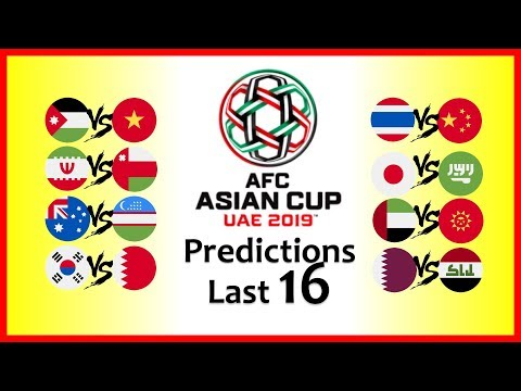 2019 ASIAN CUP PREDICTIONS - 2nd ROUND