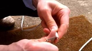 Як підключити супутник, конвертор або коаксіальний кабель F роз'єм зі стандартними інструментами