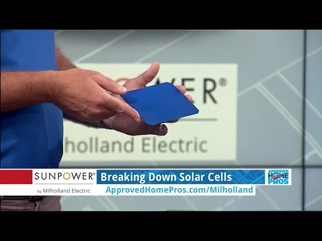 Breaking Down Solar Cells