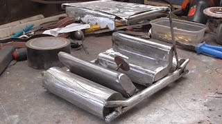 how i built the fred flintstone car ( soon to be a rat rod ..lol )