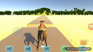 Horse simulation - Android app