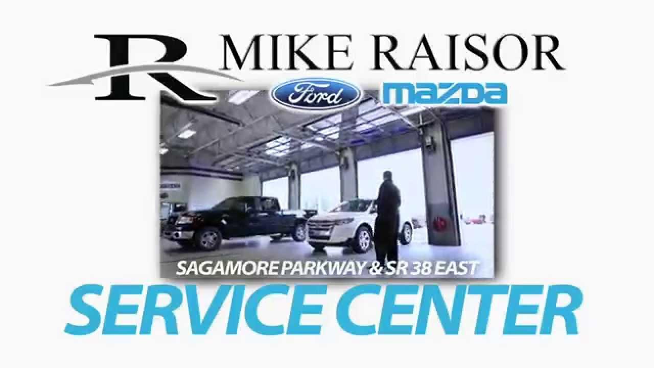 Mike Raisor Ford >> Raisor Ford Mazda Service Center The Works Tv Commercial Youtube