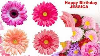 Jessica - flowers - Happy Birthday