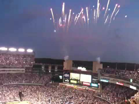 F15 Fly Over at Gillette Stadium
