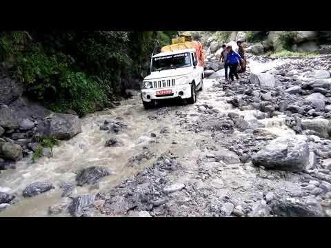 World most dengerous driving over flood