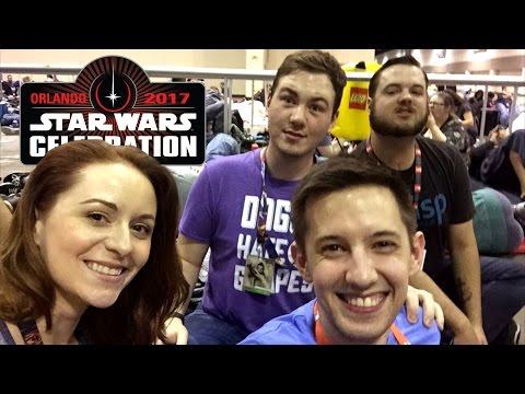 Star Wars Celebration 2017 Vlog Extended Cut | Malex Vlog