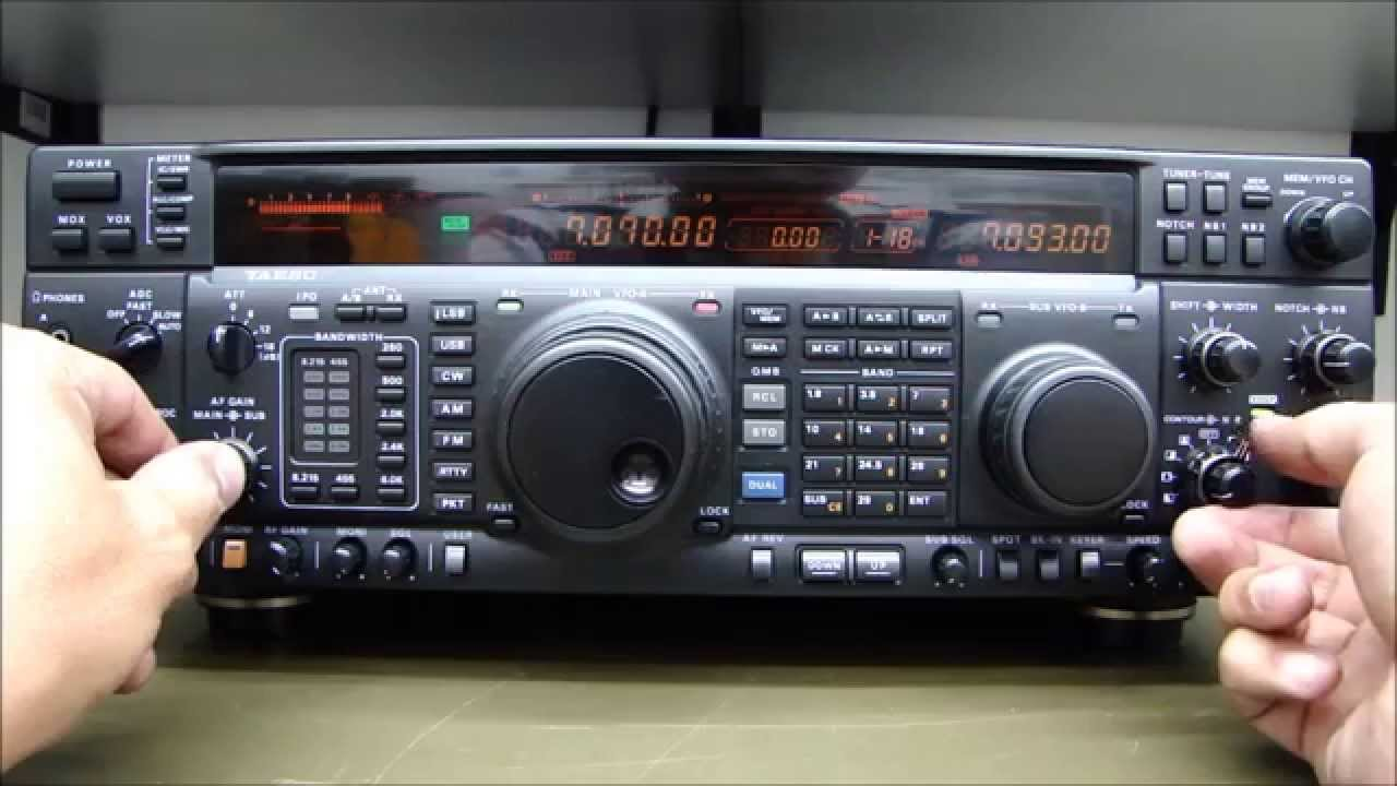 ALPHA TEELCOM: YAESU FT-1000MP COM PROBLEMAS NOS ENCODERS