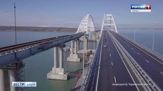 За эту зиму по Крымскому мосту проехало более 500 тысяч машин