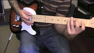 Squier Affinity Telecaster Demo