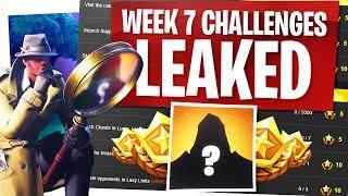 Fortnite Week 7 Challenges Leaked - Secret Road Trip Skin Friday!
