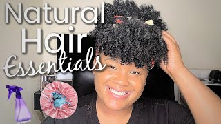 My Natural Hair Amazon Essentials | Must-Haves!!!