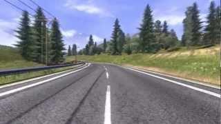 Клип ДДТ - Ты не один (Euro Truck Simulator 2)