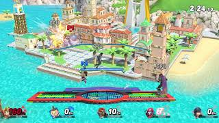 Super Smash Bros Ultimate - The Game - Zelda vs Villager