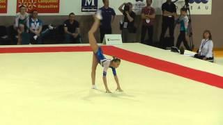 Daria Spiridonova (RUS) - Floor - 2015 European Championships (Quals)