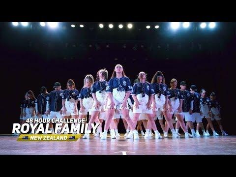 The Royal Family Dance Crew @ Studio Challenge 2018 | Justin Timberlake