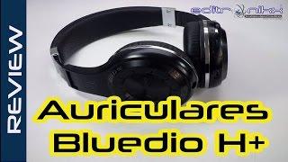 auriculares bluedio h+ con FM, Bluetooth y SD card | review editronikx español