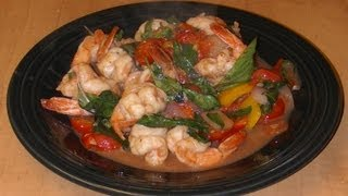 Thai Basil Shrimp Stir Fry - Recipe