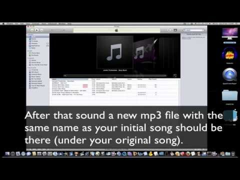 The easiest way to resize your mp3 files (mac and pc)