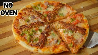 Seekh Kabab Pizza Without Oven Recipe by (YES I CAN COOK) Pizza Point's Recipe Kabab Chaska