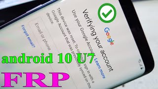 samsung s9 plus g965f u7 frp bypass google account android 10