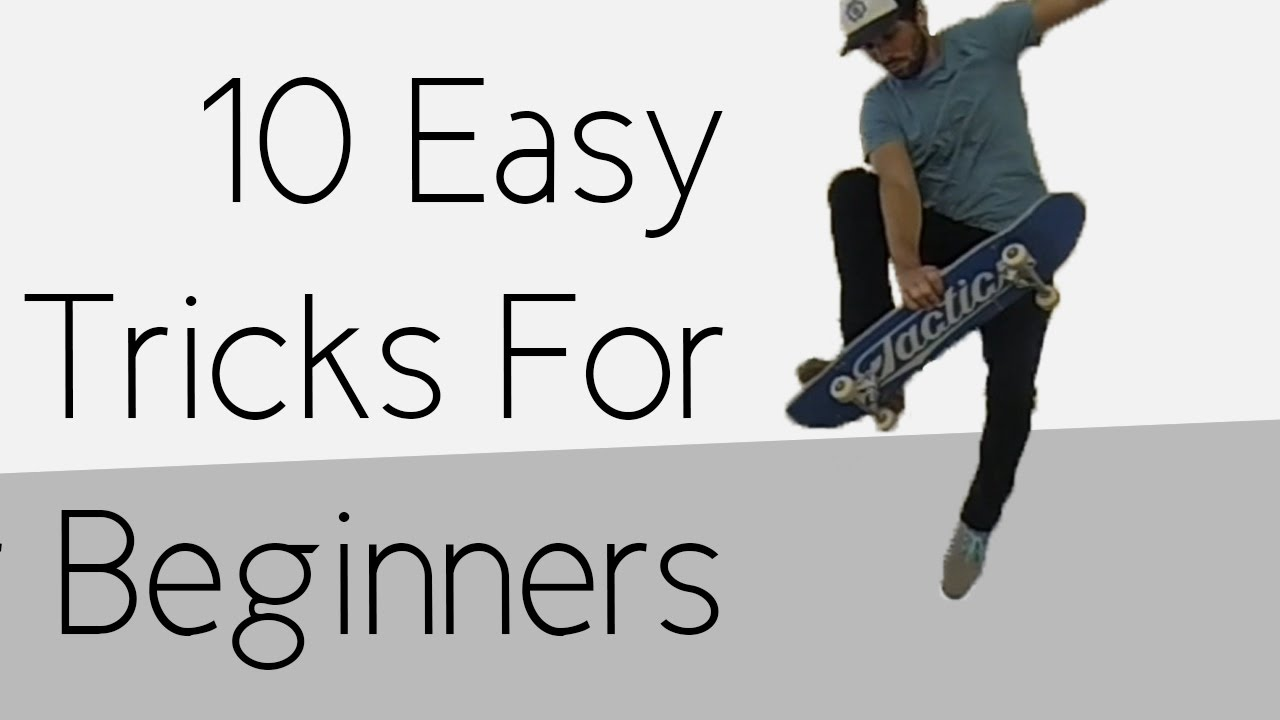Easy skateboarding tricks to learn