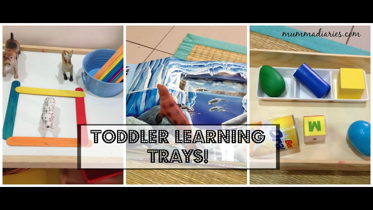 Hands on learning activities for toddlers & preschoolers