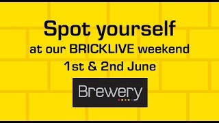BRICKLVE event at The Brewery Shopping Centre